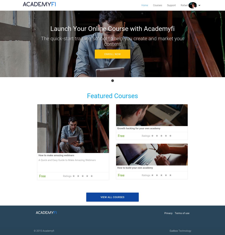 Academyfi - Home
