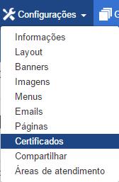 Certificados na Plataforma Eadbox.