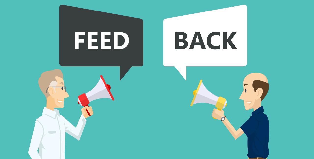 feedback lançar curso online