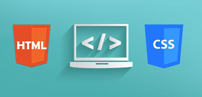 html-css lançar um curso online