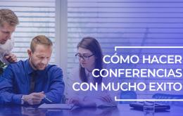 crear conferencias exitosas